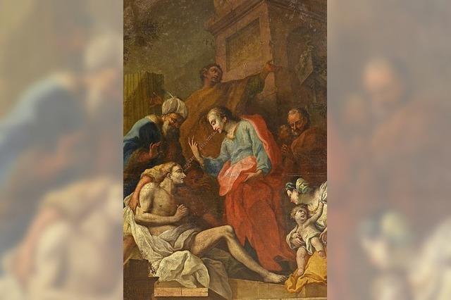 Gerhard Bender referiert über Barockmaler Johann Pfunner in Freiburg