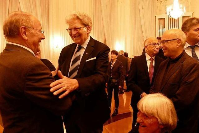 Fotos: Festakt zur Verleihung der Ehrenbürgerwürde an Johann Meier