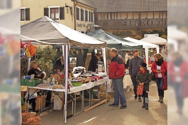 Machwerkmarkt im Wetterglück