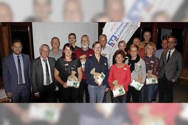 Jubiläumsgeschenk an die Kaiserstühler Vereine