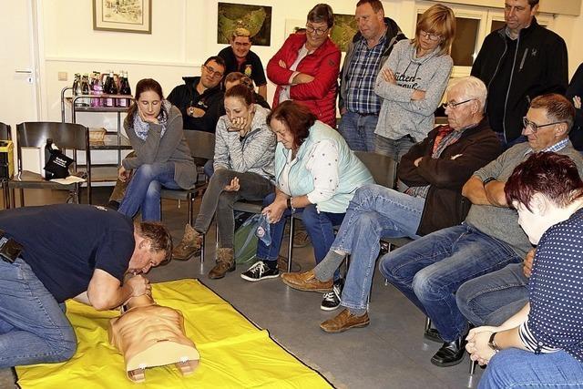Bitte keine Angst vorm Defibrillator