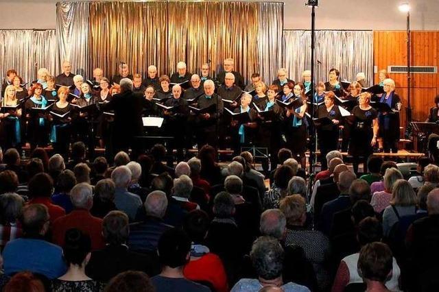 Sängerbund Efringen-Kirchen bringt sich zum 175. Geburtstag selbst ein Ständchen