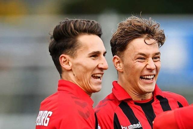SC Freiburg II rehabilitiert sich gegen den VfR Aalen
