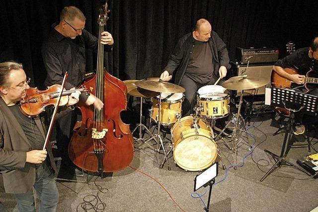 Sessionband lässt Ära des Swings wieder aufleben