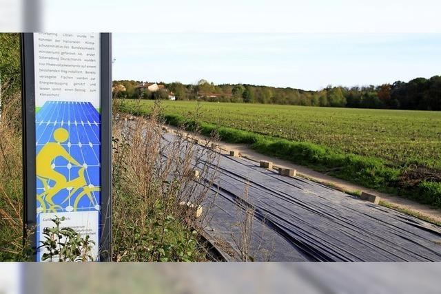 Deutschlands erste Solar-Straße endet nach technischem Defekt vor Gericht