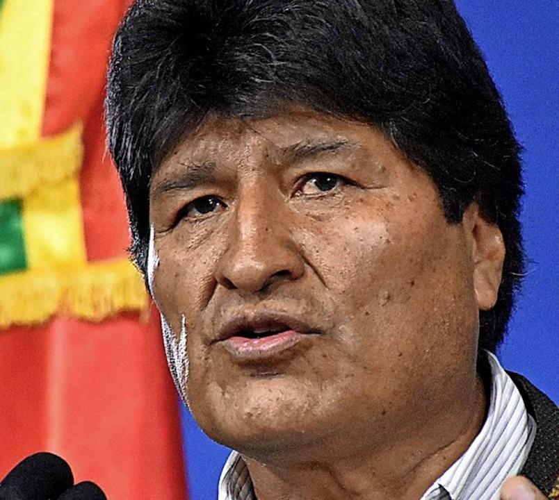 Evo Morales  | Foto: HO (AFP)