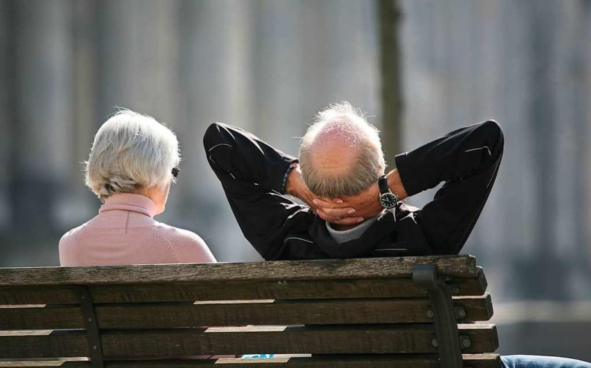 Gute Nachricht für viele Rentner: Die ...tion hat eine Grundrente beschlossen.   | Foto: Stephan Scheuer (dpa)