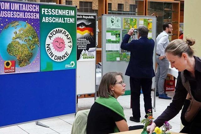 Die Grünen in Schopfheim geben zum 40. Geburtstag ihr Erbe weiter