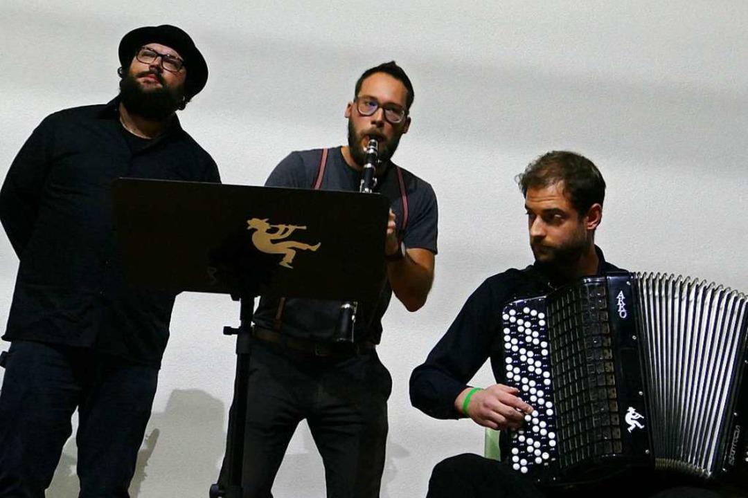 Musik mit den Haiducken  | Foto: Martina David-Wenk