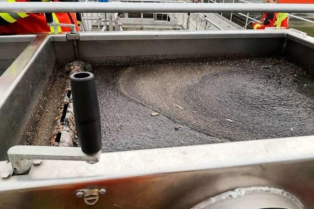 Polizei sucht noch nach Altöl-Umweltsünder