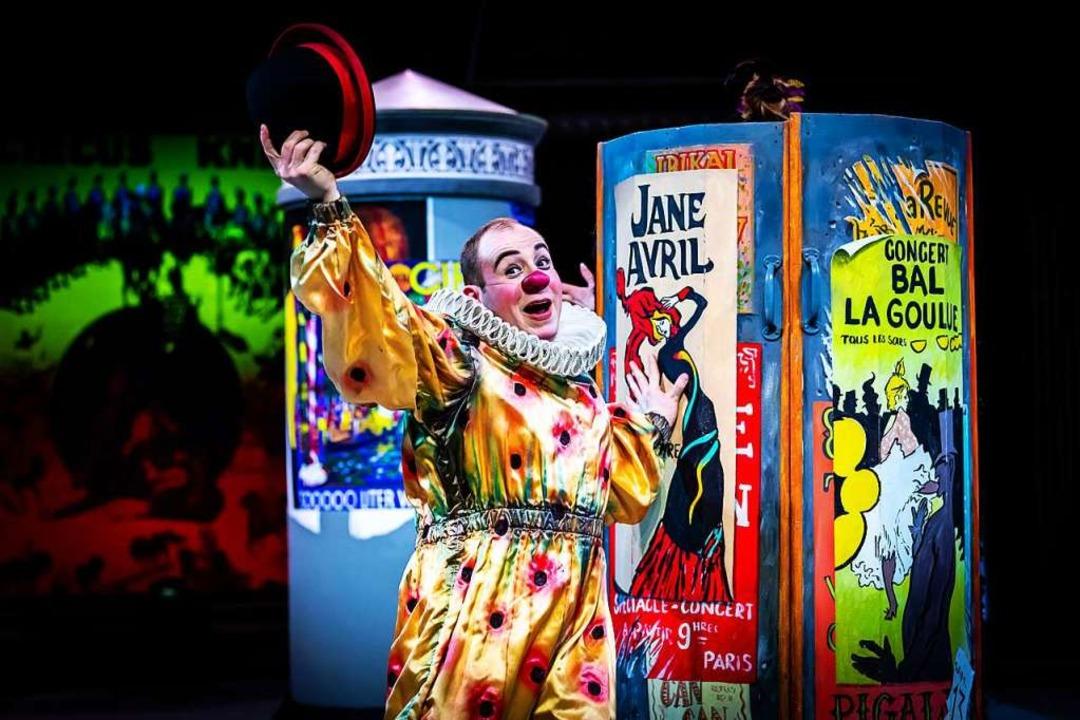 Nicht immer stand es rosig um den Zirk...iten verbreiteten Clowns Leichtigkeit.  | Foto: Lukas Pitsch