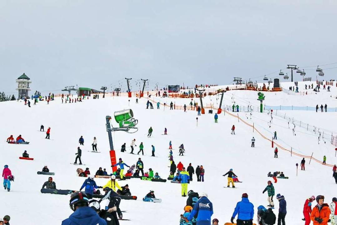 Nur noch einen skiwinterlang gibt es d...Feldberg mit der Hochschwarzwald-Card.  | Foto: Joachim Hahne