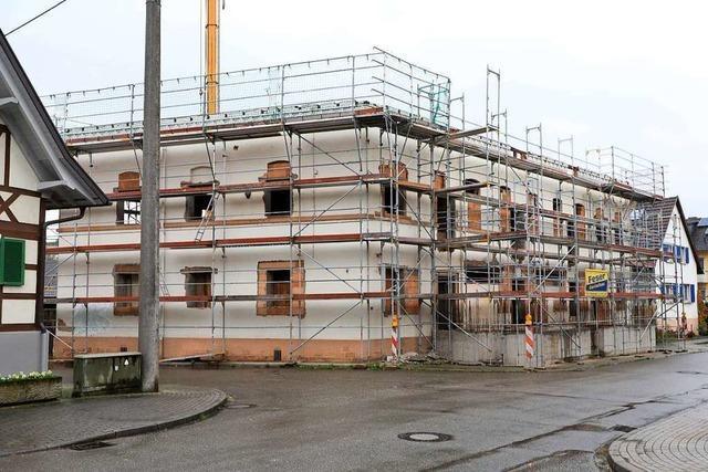 In Oberschopfheim entstehen derzeit fast 60 Wohneinheiten