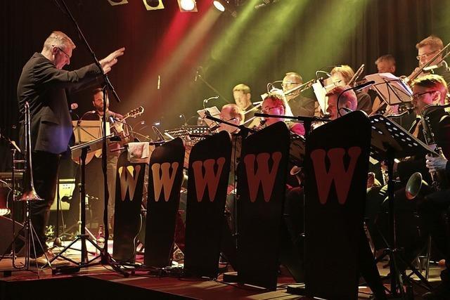 Die Bigband W spielt Werke und Arrangements von Carlo Bäder im Stiftsschaffneikeller