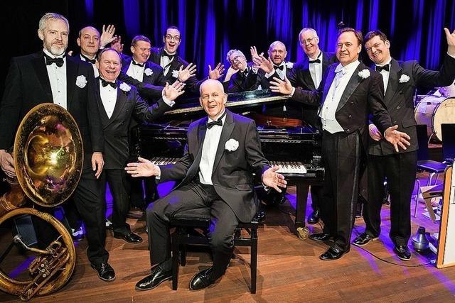 Auf seiner Jubiläumstour gastiert das Pasadena Roof Orchestra im Lörracher Burghof