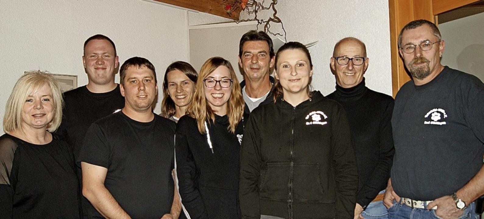 <BZ-Keyword>Das neue Vorstandsteam</BZ...eklerski und Beisitzer Kai-Uwe Müller     Foto: Maria Schlageter