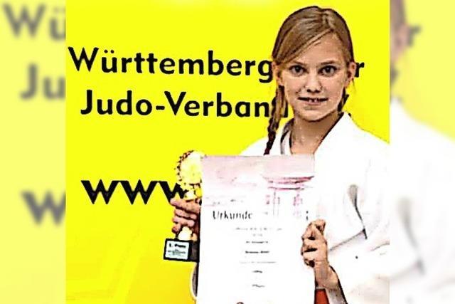 Junge Judo-Meisterin aus Bad Säckingen