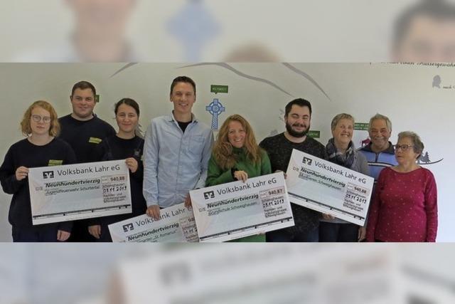 Vereinsende ergibt Spenden