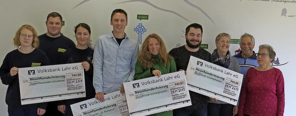 Vereinsende ergibt Spenden - Schwanau - Badische Zeitung