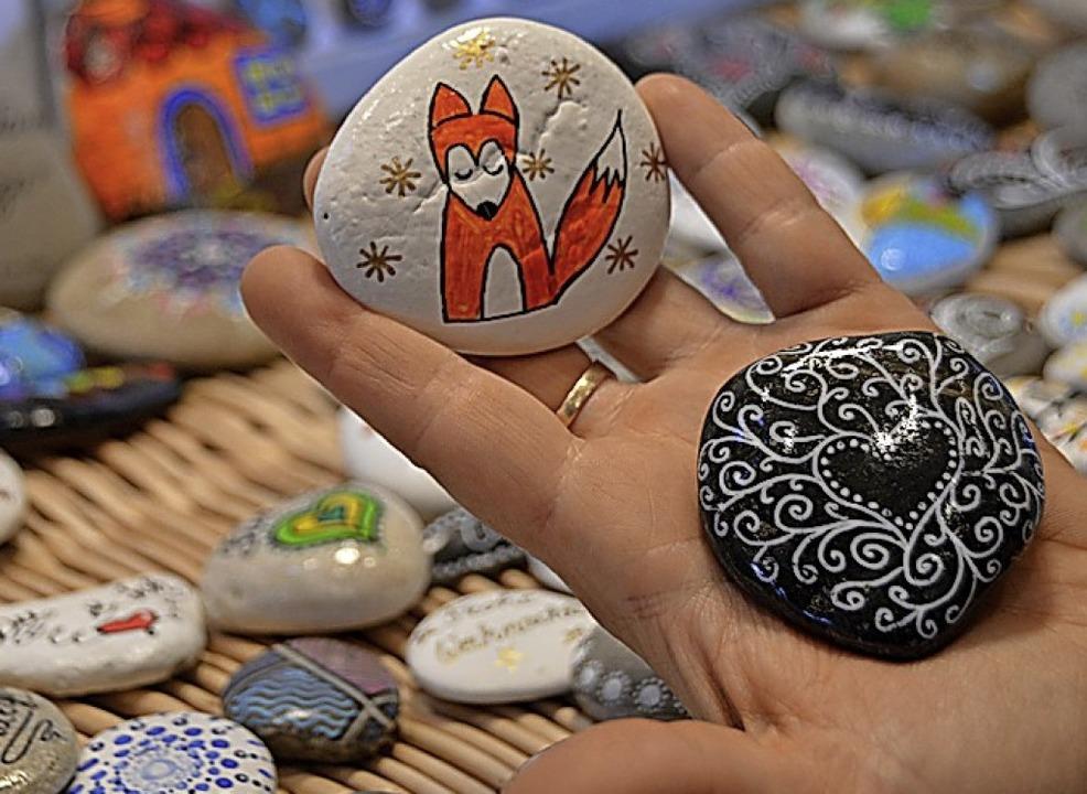 Bunte Botschaften auf Stein  | Foto: Horatio Gollin