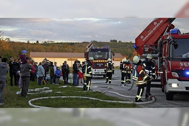 Ringsheimer Feuerwehr übt den Ernstfall