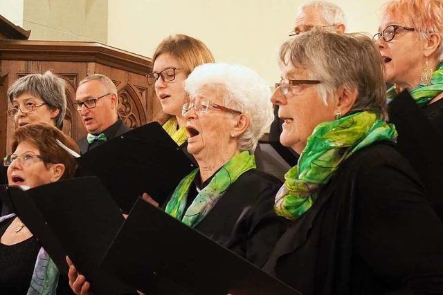 Ein Chor aus dem Markgräflerland legt nach 157 Jahren Bestehens erstmals eine Singpause ein
