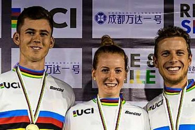 Dominik Oswald aus Münchweier ist neuer Fahrradtrial-Weltmeister