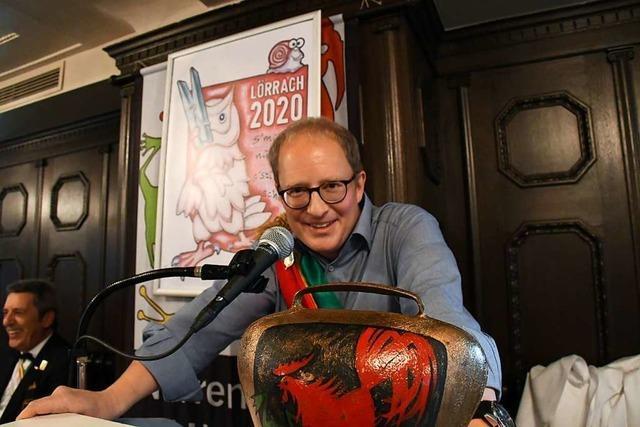 Matthias Zeller ist der neue Protektor der Lörracher Fasnacht