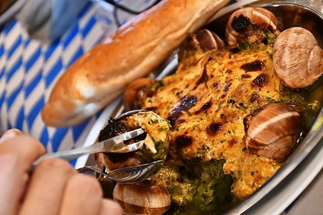 Die Schnecken, das zentrale kulinarische Element  | Foto: Barbara Ruda