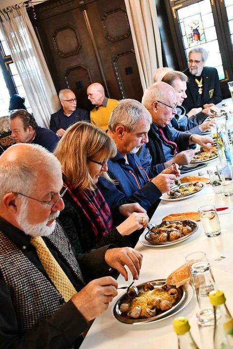 Schnäggeessen in Lörrach  | Foto: Barbara Ruda