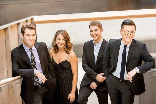 Musiktage Badenweiler: Dover-Quartett und Tabea Zimmermann
