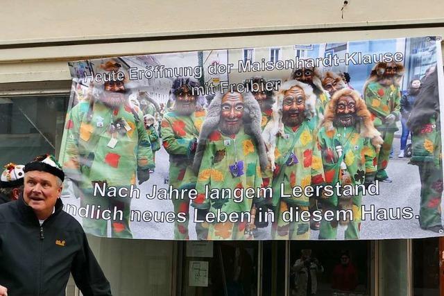 In Bad Säckingen kämpfen die Narren mit Freibier gegen den Geschäfte-Leerstand