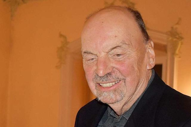 Hans-Otto Mühleisen wird Ehrenbürger von St. Peter