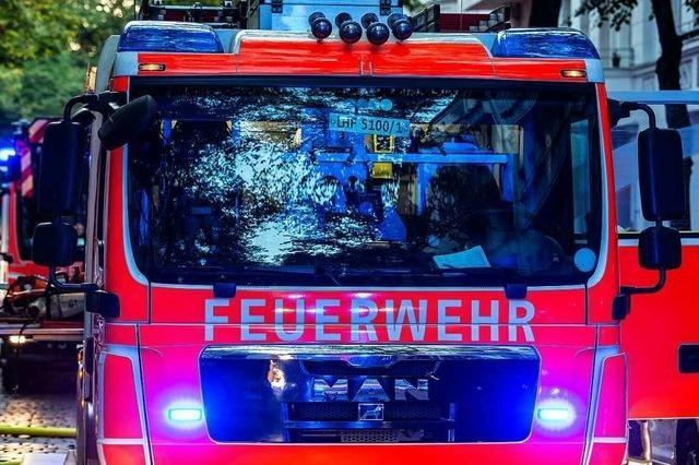 Gasgeruch in Fahrnauer Supermarkt ruft Feuerwehr auf den Plan