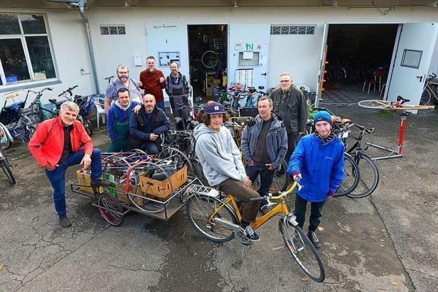 In dieser Radwerkstatt in Freiburg arbeiten Menschen mit Autismus-Diagnose