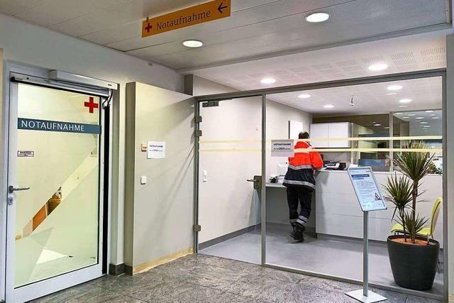 Notaufnahme wird umgebaut, weil immer mehr Patienten kommen