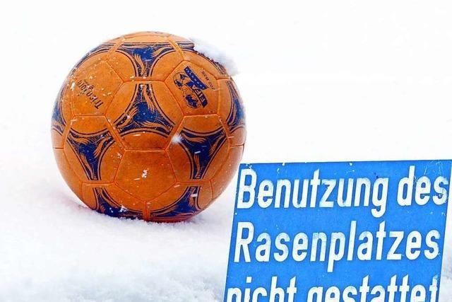 Spielverderber Winter: Im Schwarzwald fallen die ersten Spiele aus