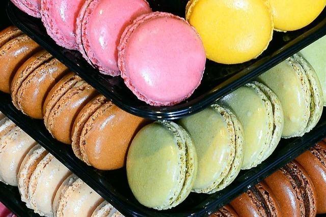 Im Café Schmidt in Freiburg werden feine Macarons hergestellt