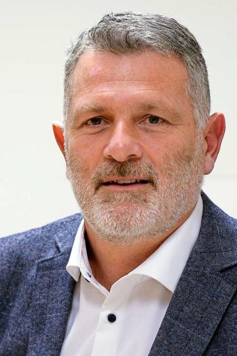 ChristianSchildecker ist neuer Ortsvorsteher von Munzingen.  | Foto: Ingo Schneider