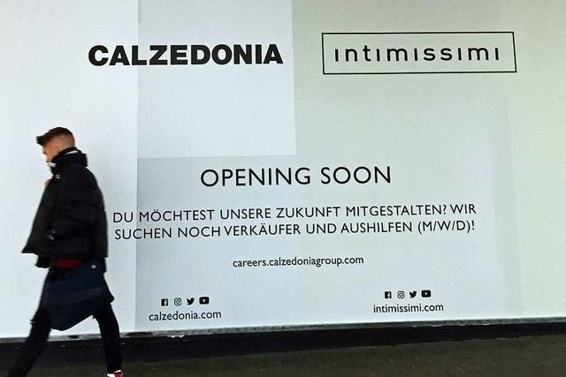 In Freiburg eröffnet ein Calzedonia & Intimissimi-Geschäft