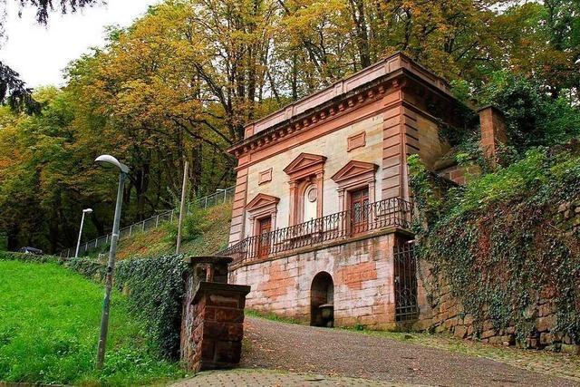 Badenova saniert historischen Wasserbehälter auf dem Schlossberg