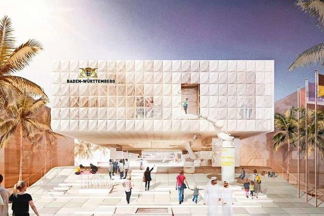 Baden-Württemberg-Pavillon für die Expo 2020 sorgt für Probleme