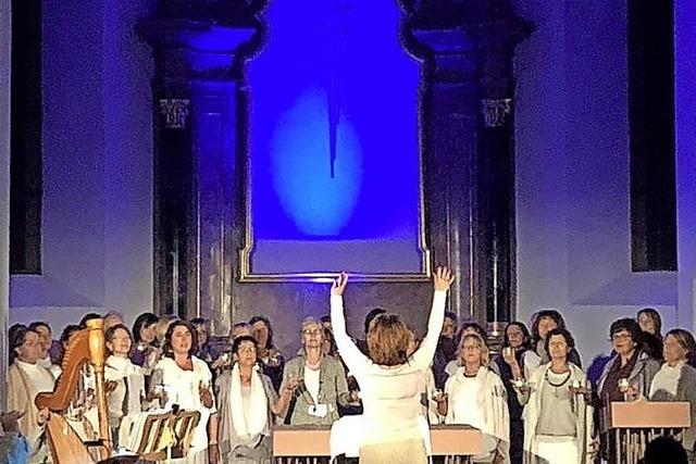 Keltische Lieder erklingen in der katholischen Kirche
