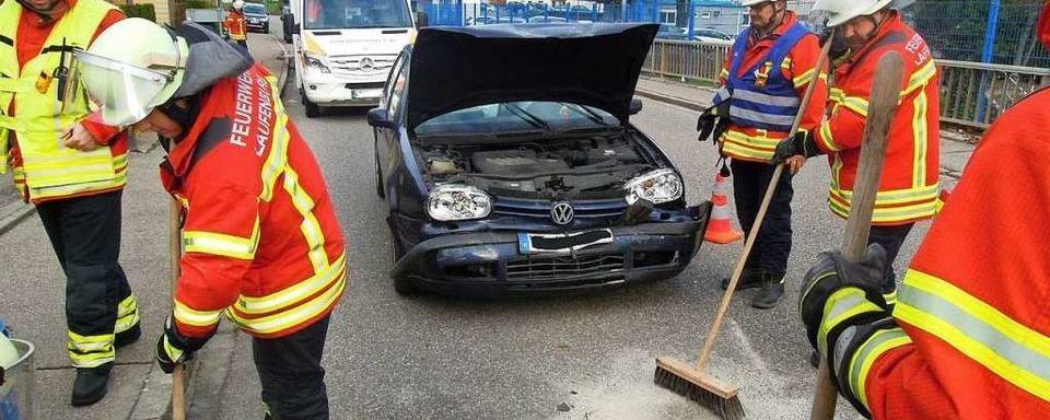 Zwei Leichtverletzte bei Auffahrunfall in Laufenburg