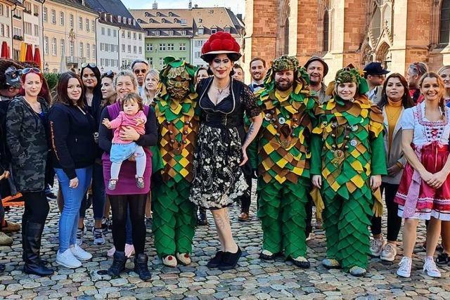 Freiburgs Dragqueen Betty BBQ hat einen Partysong veröffentlicht