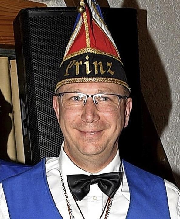 Patrick Santo ist neuer Prinz der Narrenzunft Hornig.   | Foto: privat