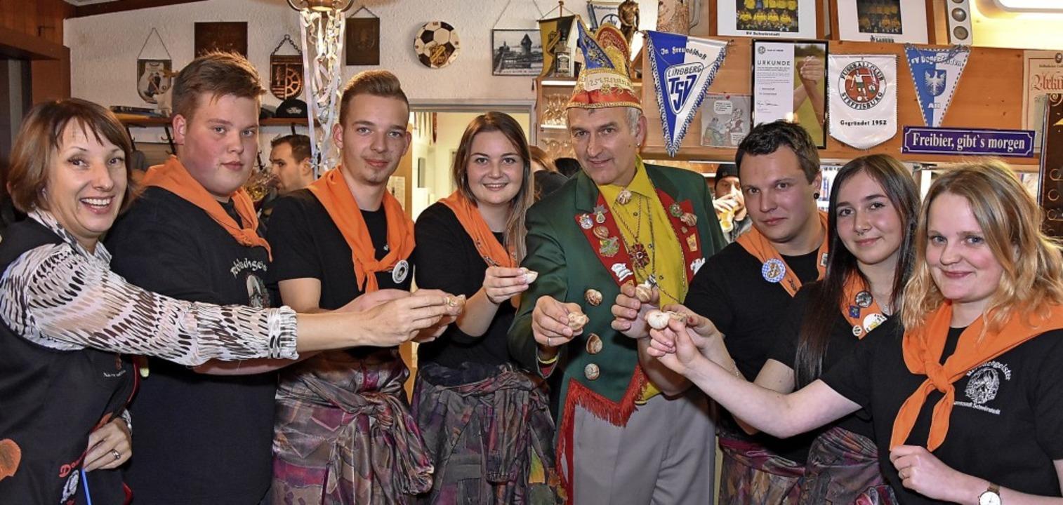 Cognac aus dem Schneckenhäuschen (von ...rle, Lara Stadler und Madlen Schmidt.   | Foto: Heinz und Monika Vollmar