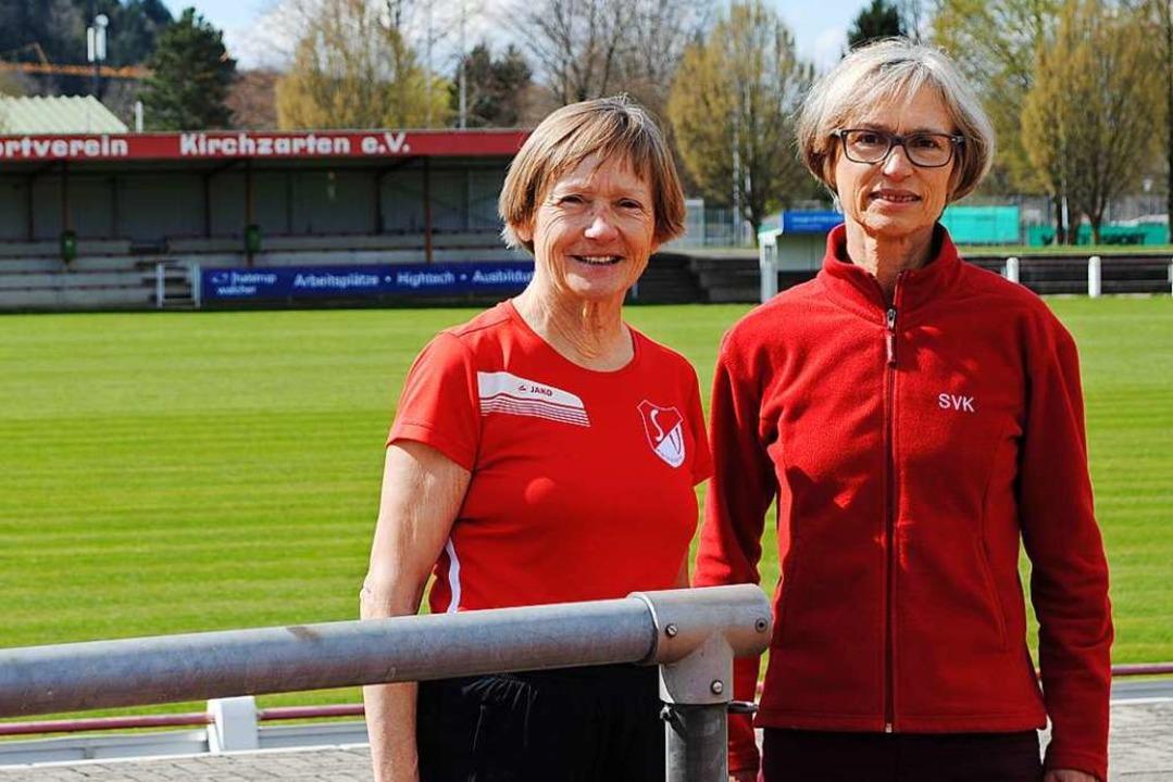 Brigitte Nittel (links) und Gisela Ple...ben gern – mit 72 und 63 Jahren.  | Foto: Moritz Ullrich