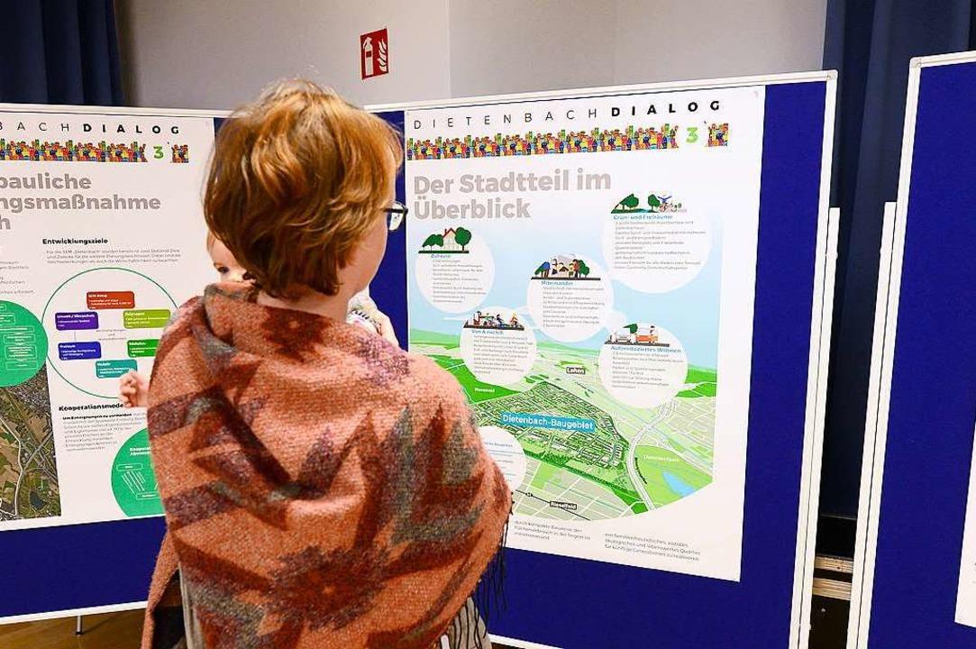 Bei der Einwohnerversammlung im Paulus...über den Stand der Dietenbach-Planung.  | Foto: Ingo Schneider