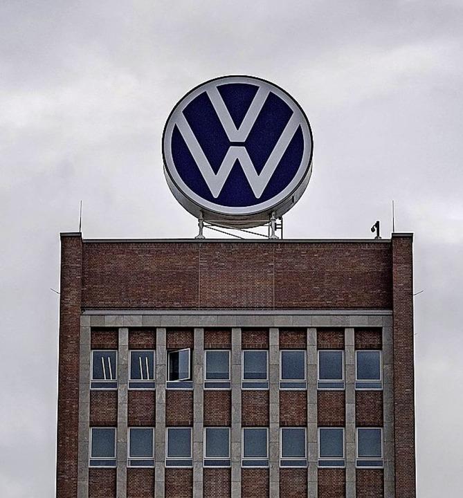 Die VW-Hauptverwaltung  | Foto: Sina Schuldt (dpa)